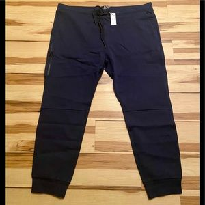 Mens Express Double Knit Joggers XXL NWT BLUE $80